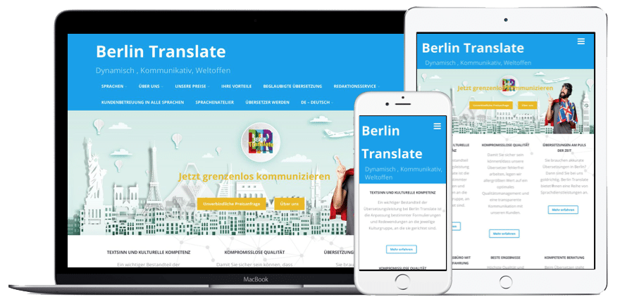 Certified translations by sworn translators