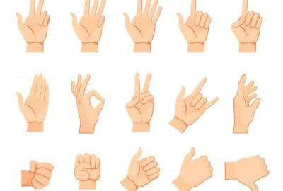Body language - gestures